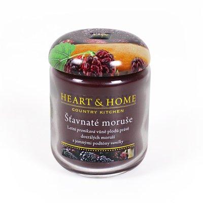 Heart & Home Velká svíčka ŠŤAVNATÉ MORUŠE