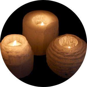 Selenitové svícny