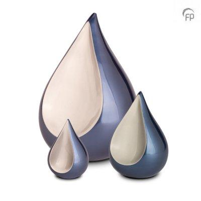 Mosazná urna SLZA blue