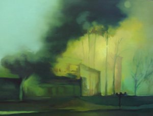 CA Fire - Disaster Paintings
