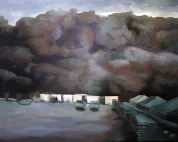 Sand Cloud - AI Asad Base 1, 2006