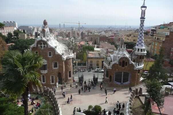 Park Guell, Barcelona, Španielsko