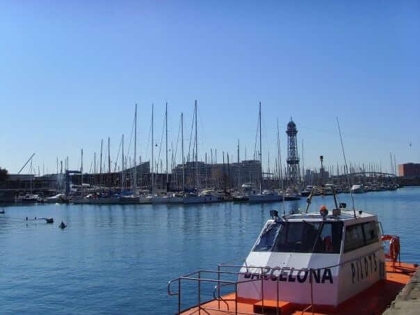 pristav Barceloneta, Barcelona, Španielsko