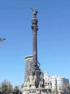 Socha Kristof Kolumbus, Barcelona, Španielsko