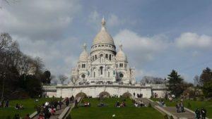 Sacré-Coeur, Montmartre, Paríž, Francúzsko