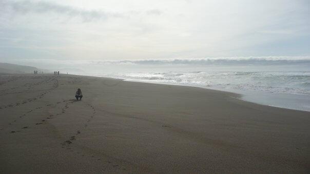 Tichý oceán, San Francisco, Spojené Štáty Americké, USA