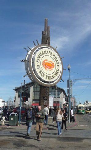Fisherman's Wharf, San Francisco, Spojené Štáty Americké, USA