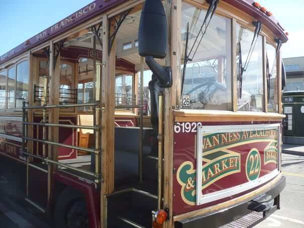električka, lanovka, San Francisco, Spojené Štáty Americké, USA