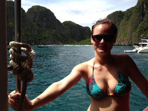 Maya Bay, Ko Phi Phi, Tajsko, Lenka Says, LenkaSays, Travel & Lifestyle Blog, blog o cestovaní, blog o životnom štýle, cestovateľský blog, lajfstajlový blog