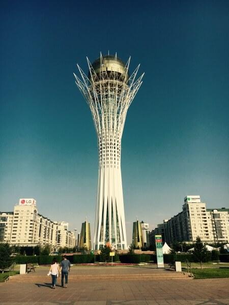 Bayterek, Astana, Kazachstan, Nursultan
