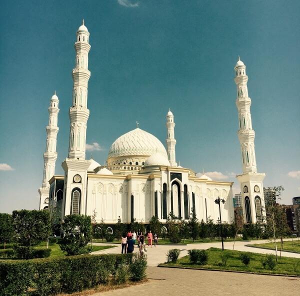 mešita Hazret Sultan, Astana, Nursultan, Kazachstan