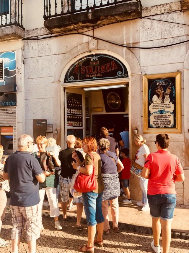 Ginjinha bar, Lisabon, Portugalsko