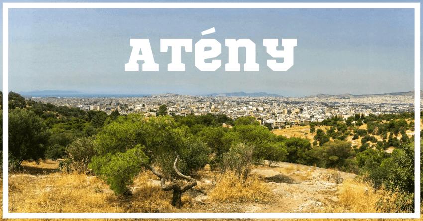 Cover Atény