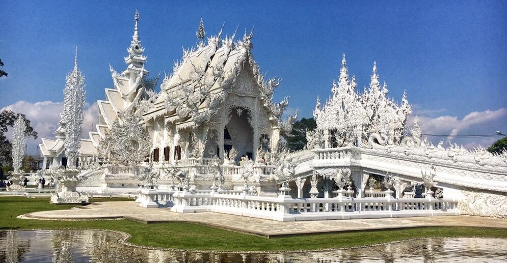 White Temple, Chiang Rai, Thajsko