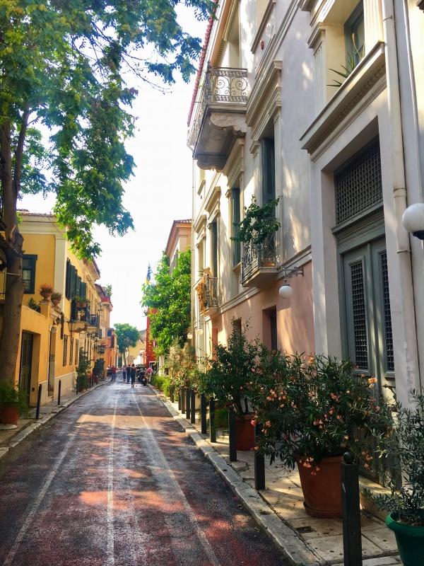 Monastiraki, Atény, Grécko