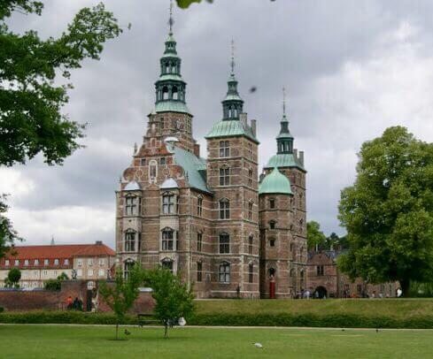 Rosenborgský palác, Kodaň, Dánsko