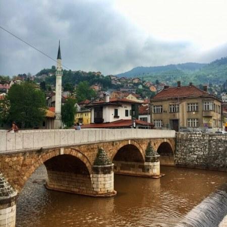 Most Šeherćehaja, Inat Kuća, Sarajevo, Bosna a Hercegovina