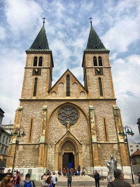 Katedrála Najsvätejšieho Srdca Ježišovho, Sarajevo, Bosna a Hercegovina