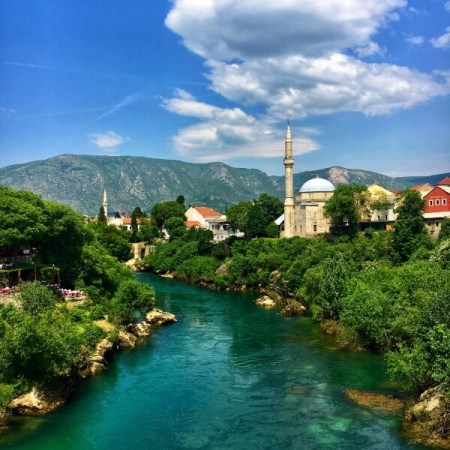 Neretva, Mostar, Bosna a Hercegovina