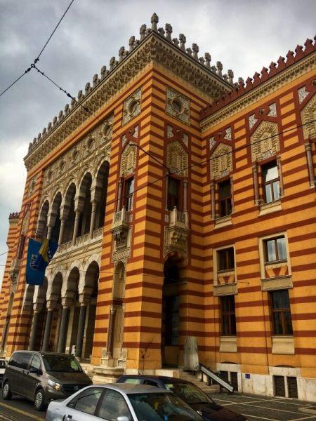 Radnica, Sarajevo, Bosna a Hercegovina