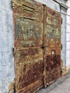 hrdzavé dvere, Levoča