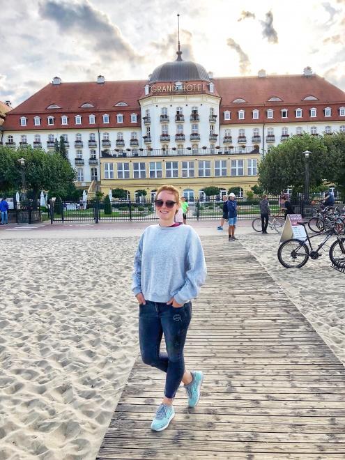 Grand Hotel, Sopot, severné Poľsko