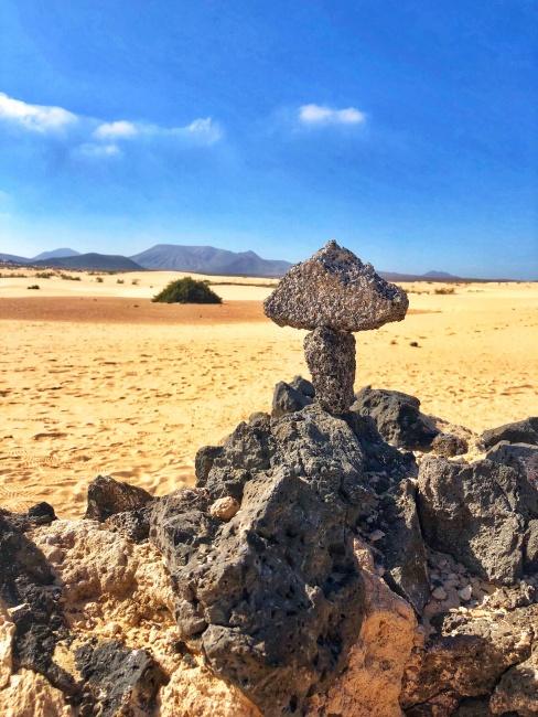 Národný park Corralejo Dunas, Fuerteventura, Kanárske ostrovy, Španielsko