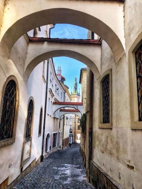Školní ulica, Olomouc, Česká republika
