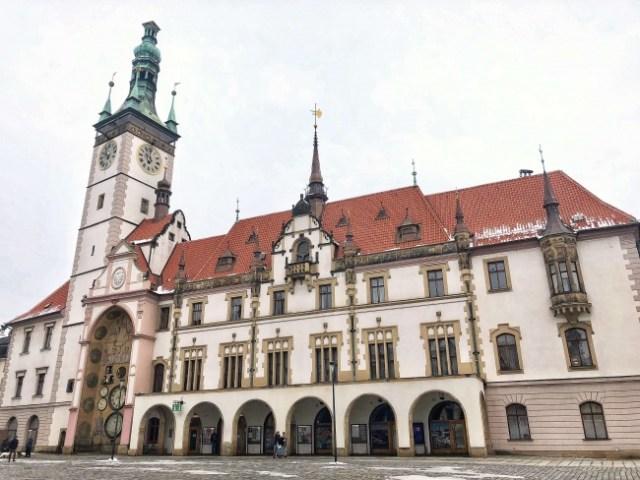 Radnica v Olomouci, Magistrát mesta Olomouc, veža s olomouckým orlojom, Olomouc, Česká republika