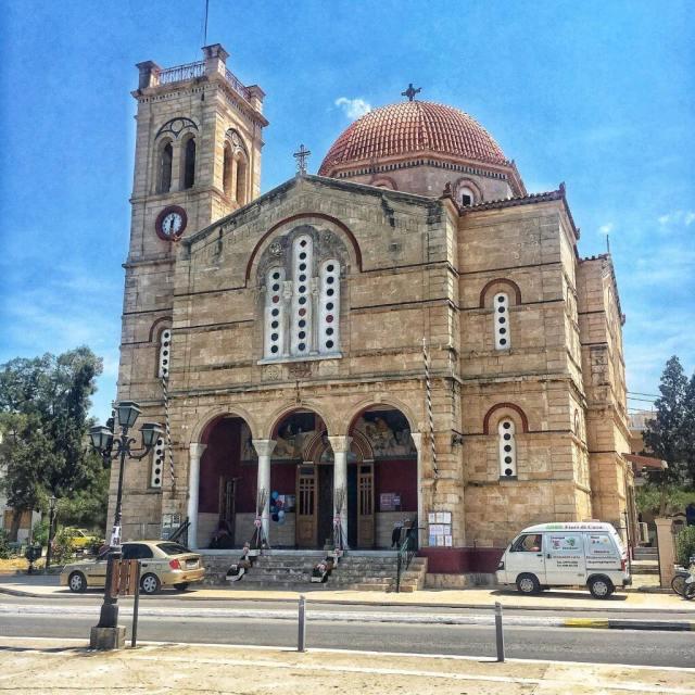 Ekklisia Isodia Theotokou, Aegina, Ejina, Egina, Aigina, Grécko