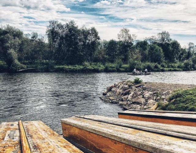 Červený Kláštor, Národný park Pieniny, splav Dunajca