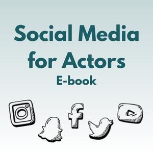 social media for actors ebook