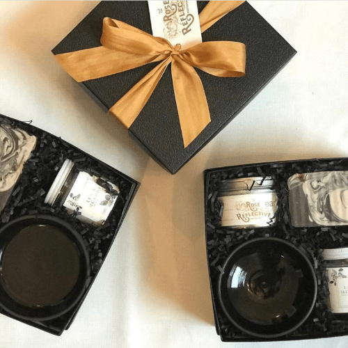 Len + McAddy Home Candle Co. custom favors and corporate gifts