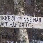 DE E INTE LÄTT Å VA MILJÖPARTIST