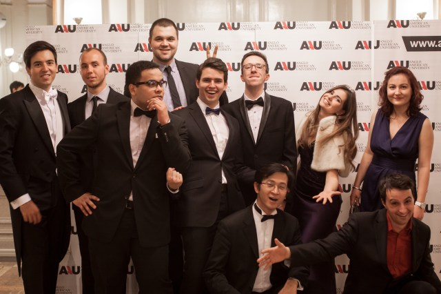 AAU Student Council at the Grand Ball. Photo by Dmitrii Shelenyov