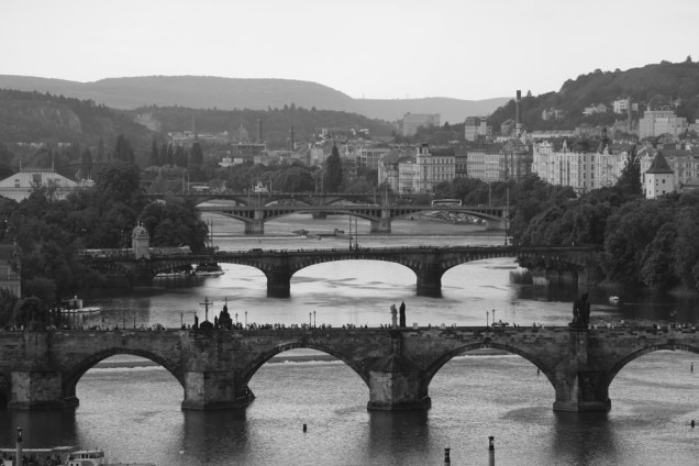 Bridges, Prague.