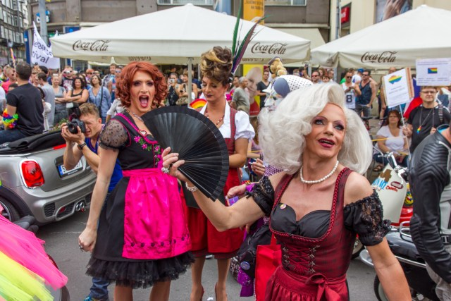 Drag Queens show off their personalities.