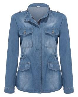 wholesale denim jacketss women ladies jacket jacket female coat girls denim jean jacket 5xl