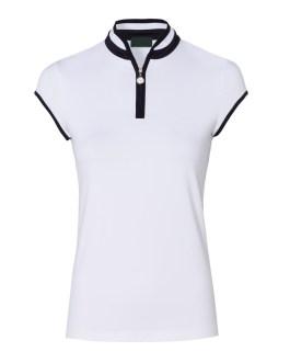 New design 2020 women/ladies custom design high quality sleeveless sports golf gym plain polo t shirt