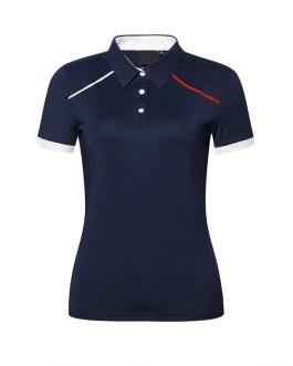 Wholesale Woman Polo Shirts Customized Logo Short Sleeve Women's Solid Casual Shirts