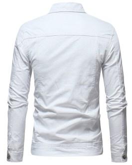 wholesale custom logo jean jackets plain men denim jacket