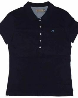 Wholesale Women 100% Cotton polo Blank Polo T-Shirt Short Sleeve Polo Shirt for woman
