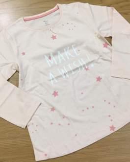 Anti-pilling feature and T-Shirts product type cheap kids t shirt 100% cotton Kids Girls children tops cartoon long sleeve boy T-Shirt