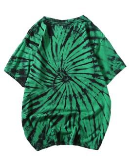 Men 100% Cotton Tie Dye T Shirts