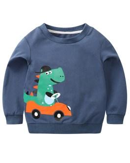 Autumn Kids Casual Fashion Cartoon Print Children's Sweatshirt