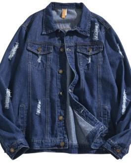 Mens Full Sleeve High Quality Custom Design Denim Jackets Collection