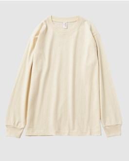 Good Quality Custom Printing Womens Long Sleeve Plain Tshirt Collection