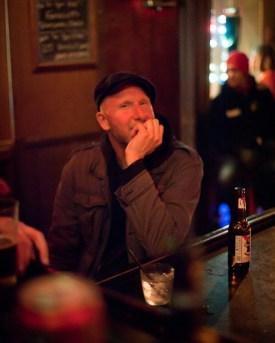 Doug after The Hemlock gig
