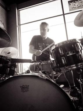 Dave Pavkovic at Breakaway Records - Austin TX