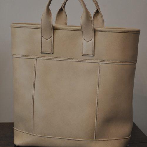 Cabas en cuir pour femme est beau et utile chaque jour. Fabrication Française LE NOËN.